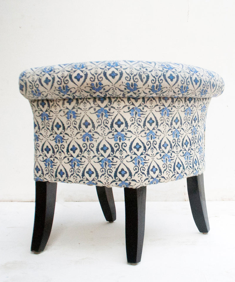 Embroidered Sky Flower Chair
