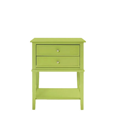 Lime Green Night Stand / End Table