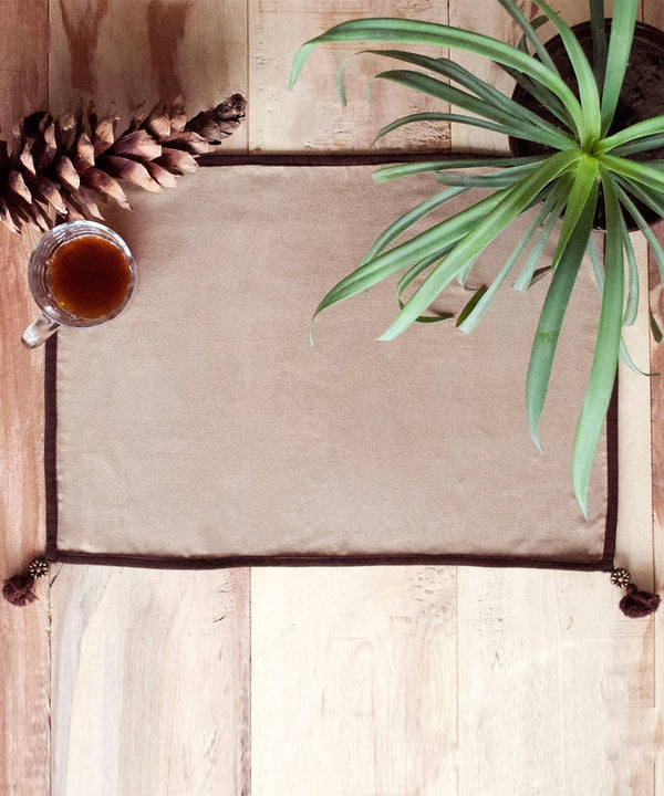 Antique Suede Table Mats