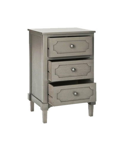 Grey Distressed Night Stand / End Table