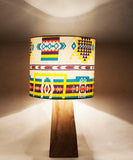 Rustic Color Bound Table Lamp