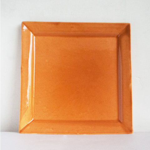 Marigold Orange Plate