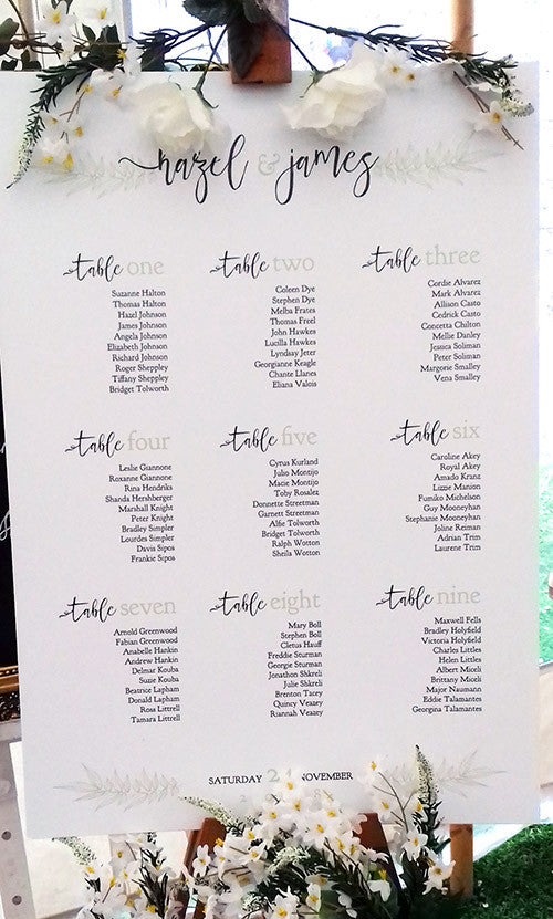 Table Seating Plan Tips