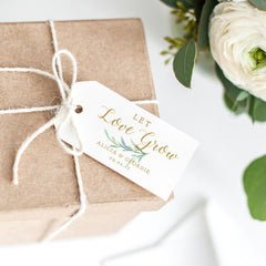 Let Love Grow Tags