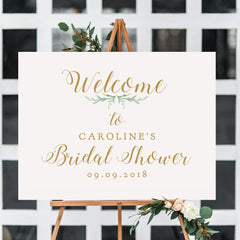 Printable Welcome to Bridal Shower Sign