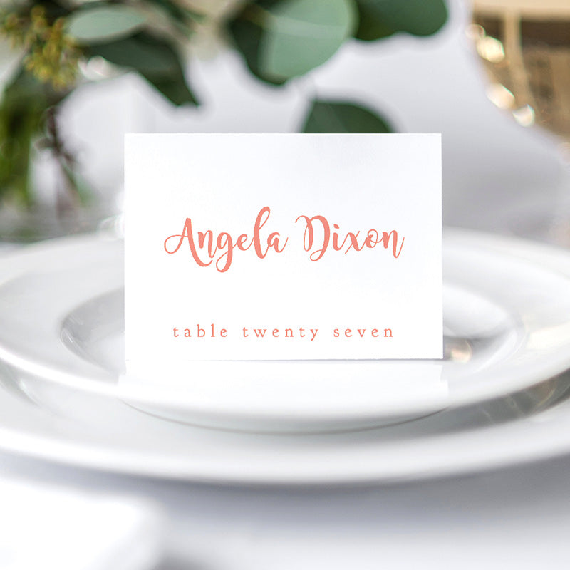 folded place cards template