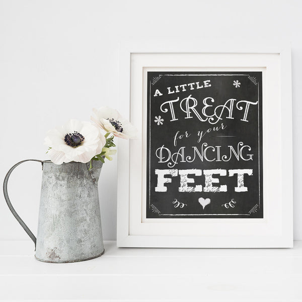 A little treat for your dancing feet