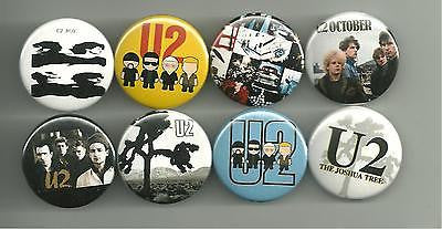 U2 1.5 Inch Pin Button Badge