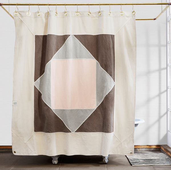 Narlai Coyote Shower Curtain Made In Usa Quiet Town