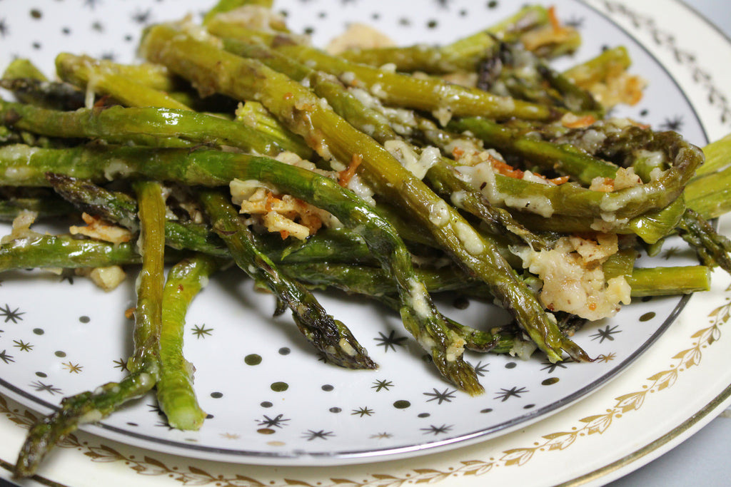 Gluten-Free Roasted Parmesan Asparagus