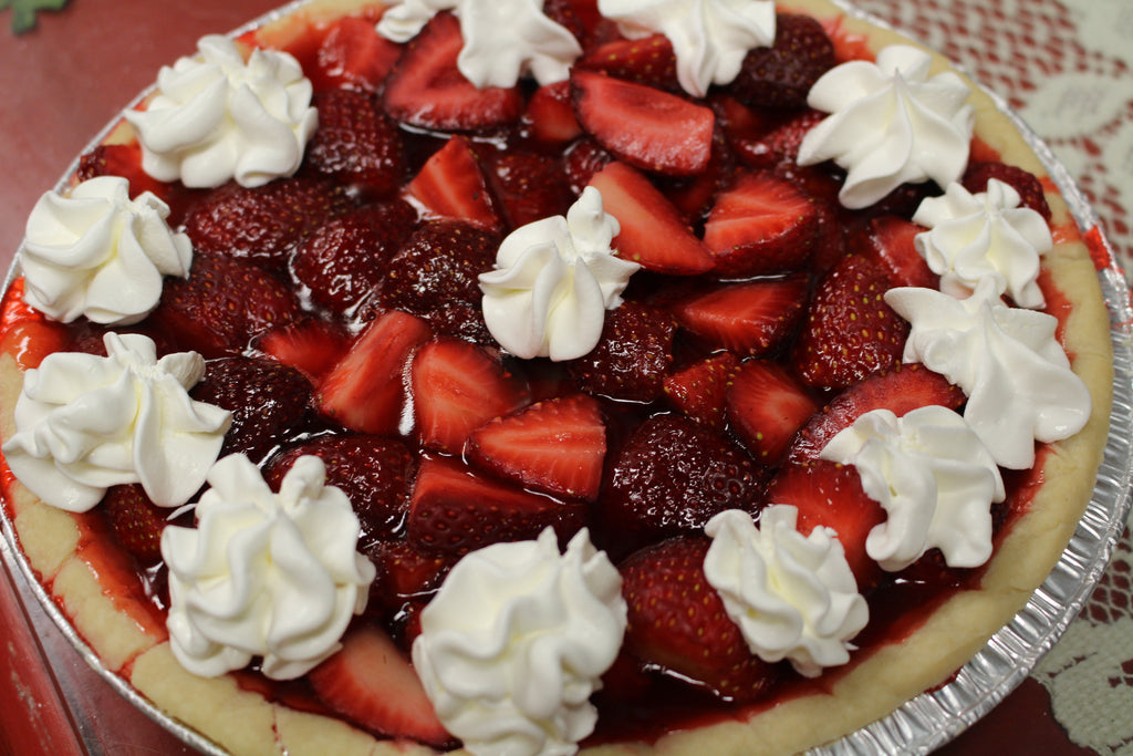 Gluten-Free, Dairy Free Fresh Strawberry Pie!