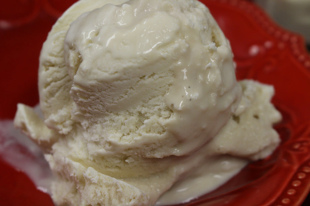 No-Churn 3-Ingredient Vanilla Ice Cream--- (Gluten-Free)