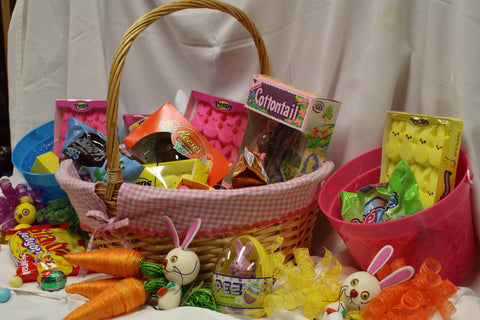 How to make an awesome gluten free easter basket outer banks safe gluten free easter candy 2016 negle Image collections