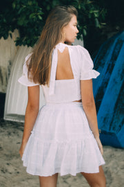 HEAVEN SENT SKIRT - WHITE