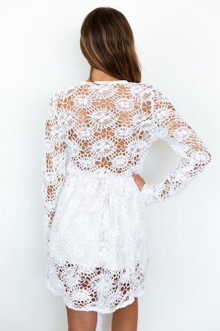 ISLE CROCHET DRESS