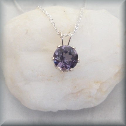 June Birthstone Necklace - Alexandrite Jewelry