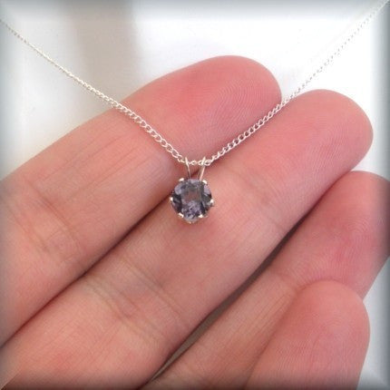 June Birthstone Necklace - Alexandrite Jewelry - Bonny Jewelry