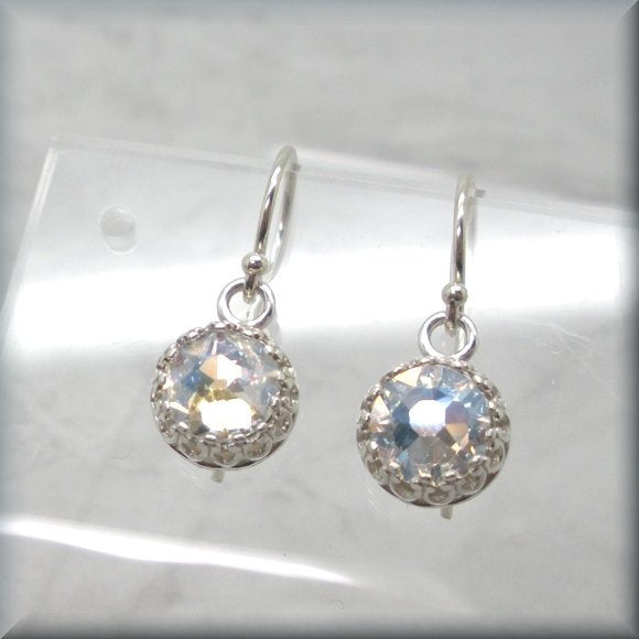 swarovski crystal moonlight earrings by Bonny Jewelry
