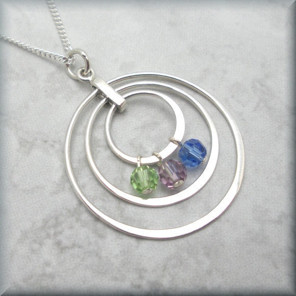 Family Circles Mothers Necklace - Keepsake Jewelry