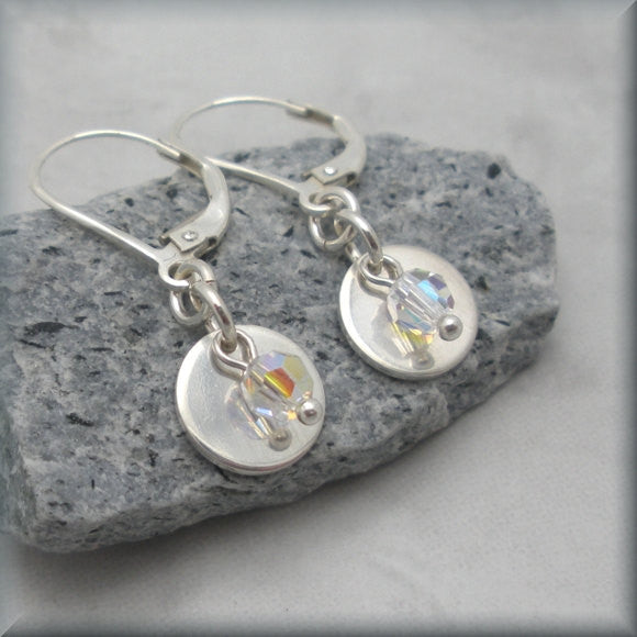 Reflection Crystal AB Earrings - Bonny Jewelry