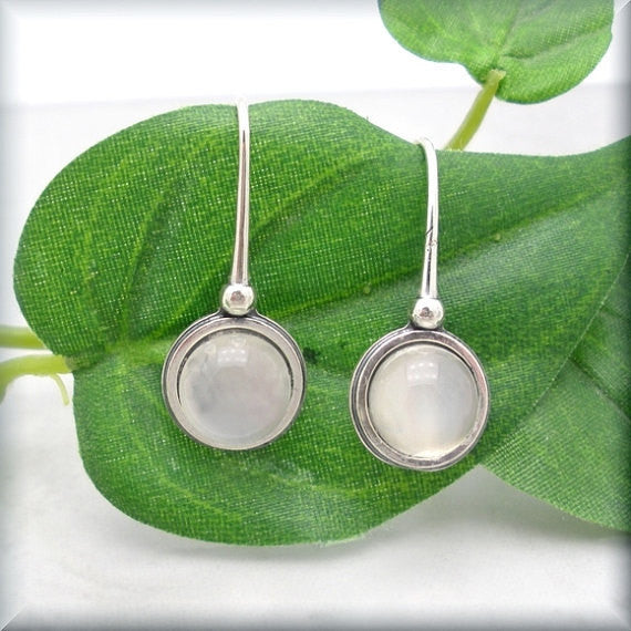 Moonstone Gemstone Earrings - Bonny Jewelry
