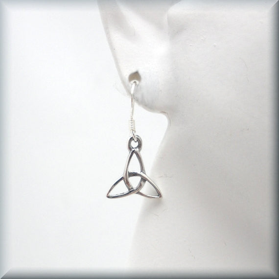 Trinity Knot Celtic Earrings - Bonny Jewelry