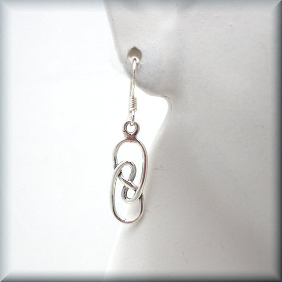 Celtic Knot Swirl Earrings - Bonny Jewelry