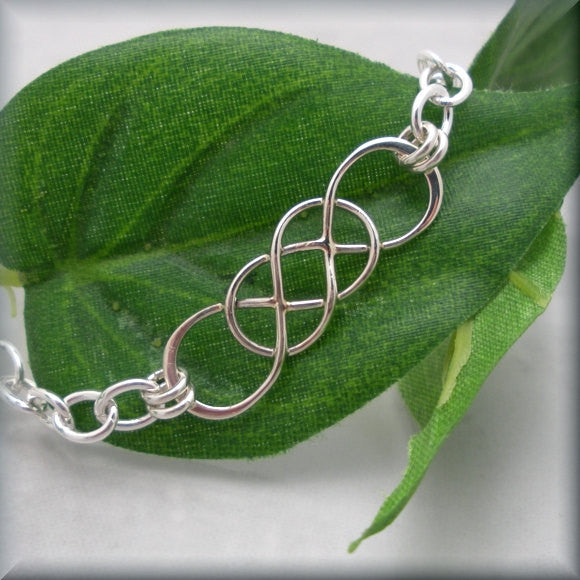 Interlocking Infinity Bracelet - Bonny Jewelry