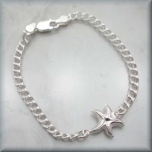 Starfish Sea Star Bracelet - Beach Jewelry - Bonny Jewelry