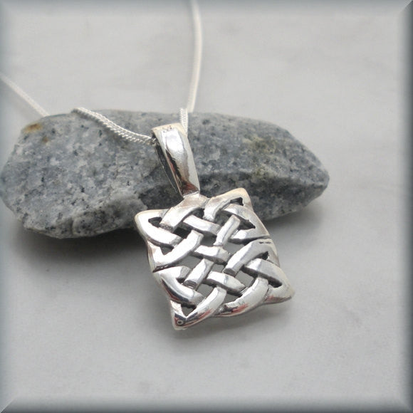 Square Knot Celtic Necklace