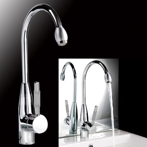 New Chrome Hot/Cold Drinking Water Basin Kitchen/Bathroom Mixer Tap Faucet - Kitchen Faucet Web