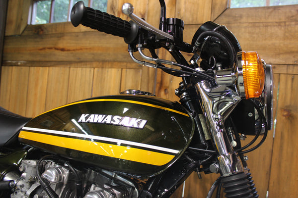 1974 Kawasaki Z1 900 - Full Restoration - Atlanta Motorcycle Works - Vintage Japanese Motorcycle Restoration and Repair