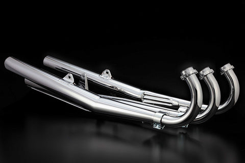 Kawasaki H1 500 Triple Complete Exhaust Set - Out Of Stock