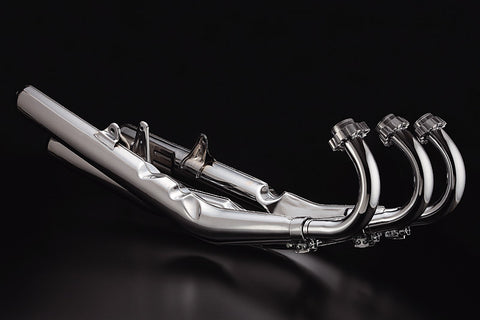 Kawasaki H2 750 Triple Complete Exhaust Set - Atlanta Motorcycle Works Vintage Part Replacement