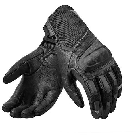 REV'IT! Striker 2 Gloves In Stock! Available in Black and Black/Red. Atlanta Motorcycle Works your #1 trusted source for Rev'it! gear!
