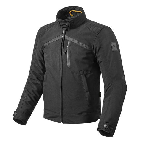 Re'vit! Tyler Jackets available in Black. Make sure your ride is comfortable and safe. Atlanta Motorcycle Works, your #1 source for vintage parts and apparel.