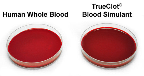 TrueClot® Blood Simulant Pre-Mix (item #s vary)