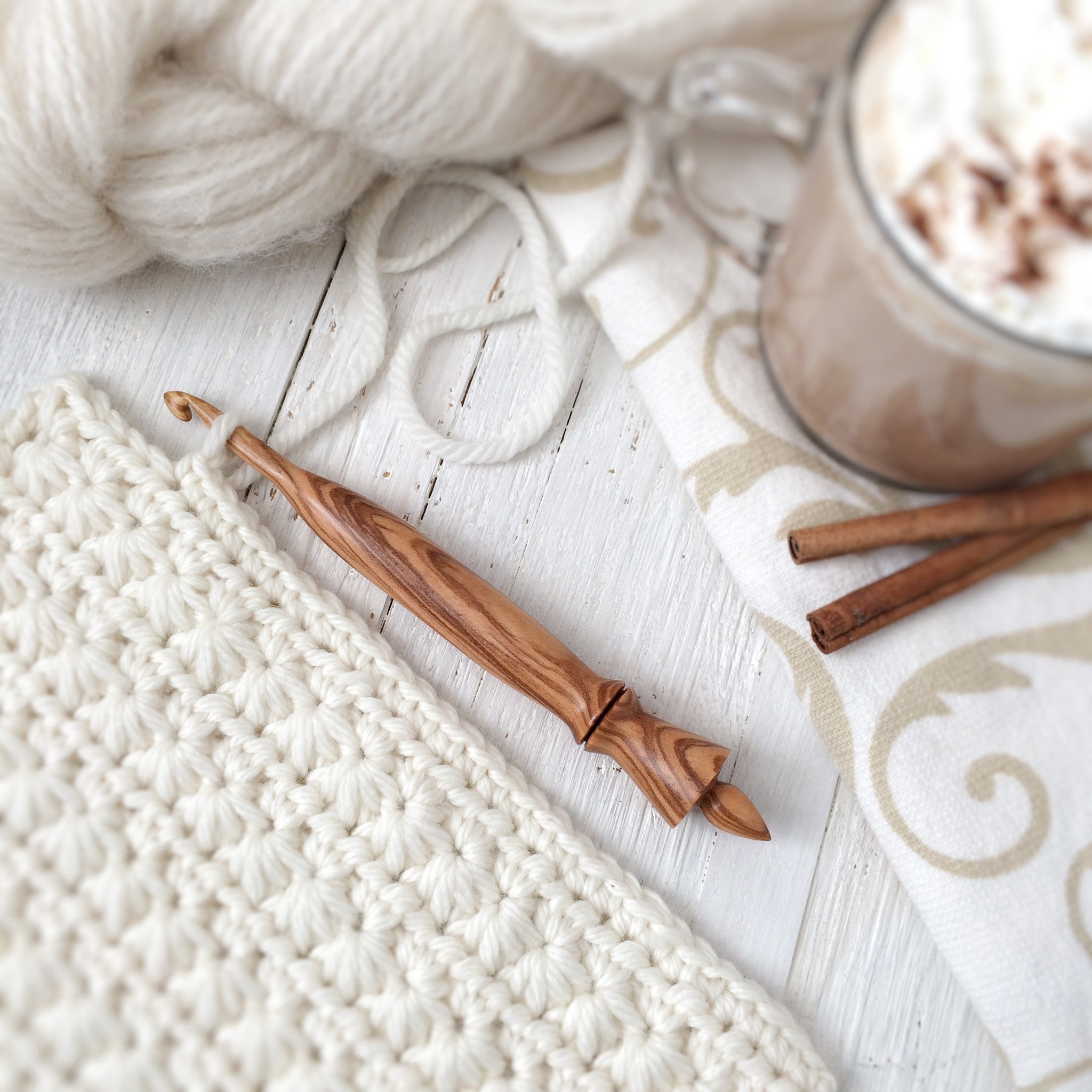 FLASH SALE: Olivewood Crochet Hooks