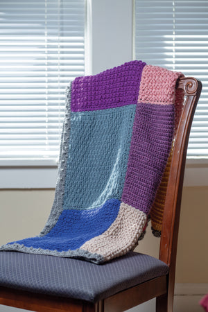 Totally Textured Afghan - Crochet Pattern