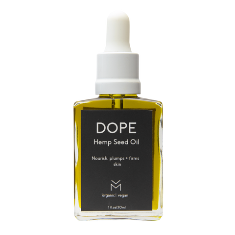 DOPE  cold pressed hemp oil