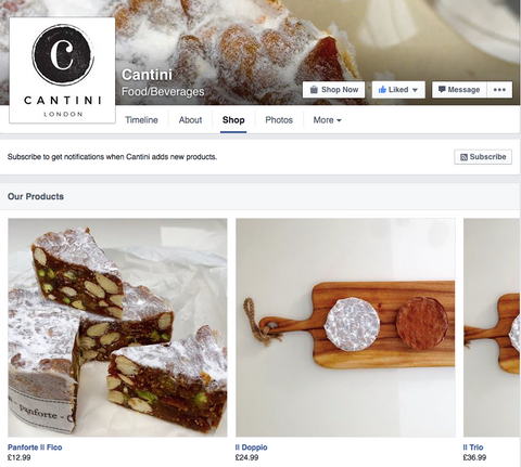 cantini panforte Facebook shop now