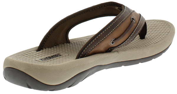 Khombu Howard Mens Flip Flop Beach Sandal