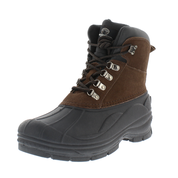 Weatherproof Men's Transit Lace Up Waterproof Snow and Work Boot