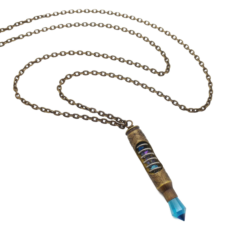 one of a kind bullet necklace