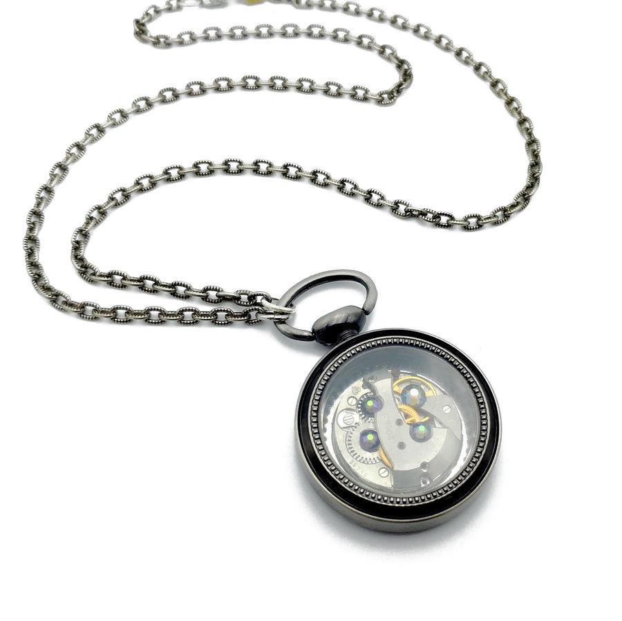 pocketwatch movement necklace