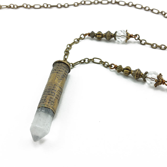 music lovers 357 magnum bullet necklace