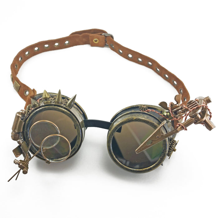 ** RESERVED ** Steampunk Goggles