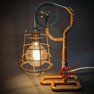 Steampunk Mariner's Lamp