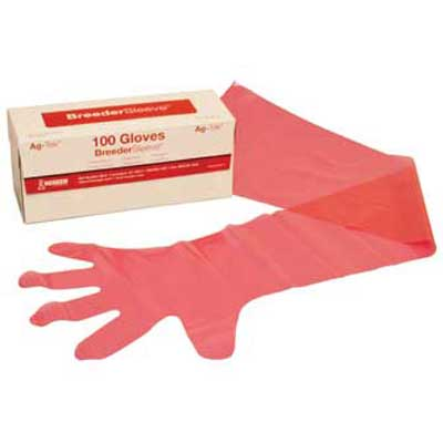 Breeder Sleeves Rectal Gloves 36""