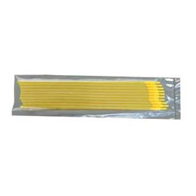 Straw Adaptor with 1/2cc Yellow Straw 10pk